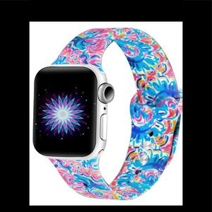 Lilly Pulitzer Apple Watch band paisley 🆕